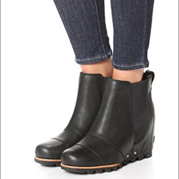 sorel wedge booties sale